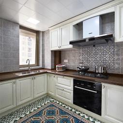 美式三居室厨房效果图