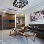 中式三居室客厅装修