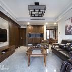素雅中式风格客厅设计案例