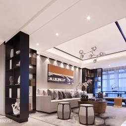 中式样板间客厅设计