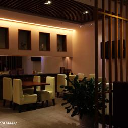 美丽华西餐厅用餐区设计
