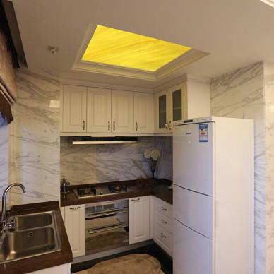家装简欧风格厨房设计效果图