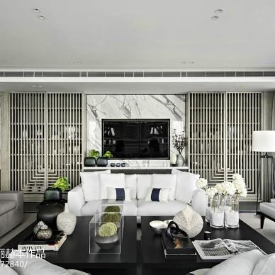 华丽现代风格别墅客厅设计