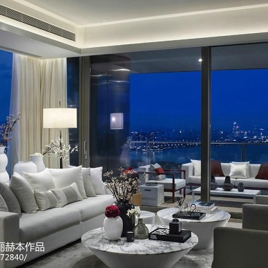 雅致现代风格客厅设计案例图