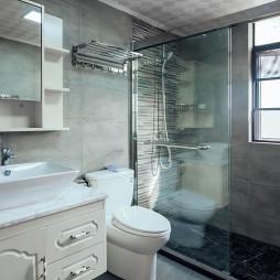 简洁美式卫浴装修
