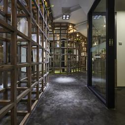 新古典风格办公室过道装修