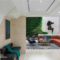 豪华现代风格别墅休闲区设计