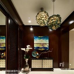 中式别墅玄关装修