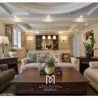 淡雅美式客厅设计案例