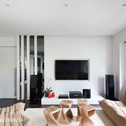 2017现代风格别墅客厅装修
