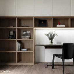 简约现代风格书房设计案例