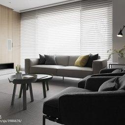 家装现代风格三居室客厅装修