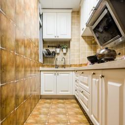 美式小户型厨房设计