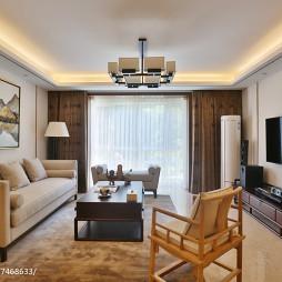 禅意中式风格客厅设计方案
