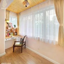 美式三居室阳台设计
