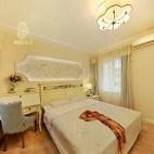 美式风格米黄色系卧室装修