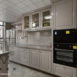 新古典风格三居室橱柜设计