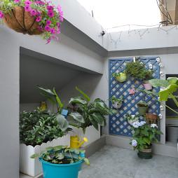 清新宜家风格阳台设计案例