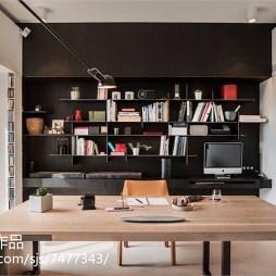 简单现代风格书房设计