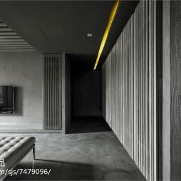 靜謐現代風格客廳設計