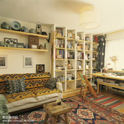 家居混搭风格创意客厅装修