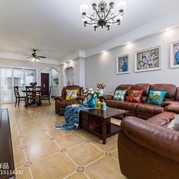 家居美式田园风格客厅设计大全