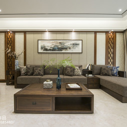 优雅中式风格客厅设计案例