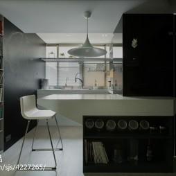 现代风格家居吧台图片