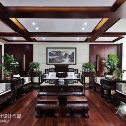 中式风办公空间装修案例