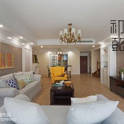 时尚大气美式客厅设计