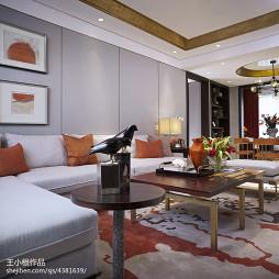 现代风格时尚客厅装修