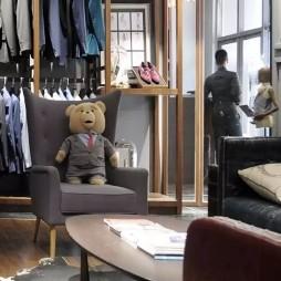 男装定制店设计案例