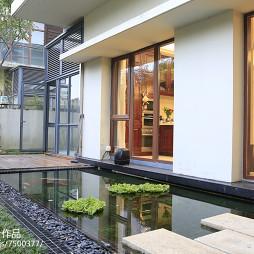 现代中式风格花园装修
