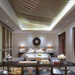 时尚现代风格别墅卧室设计