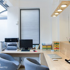 清新日式风格书房设计