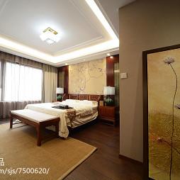 优雅中式风格卧室装修