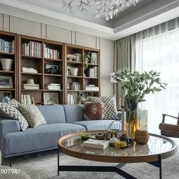 现代风格样板间书房装修