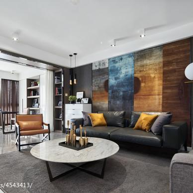 家居混搭风格客厅装修图片