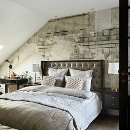 文艺欧式风格卧室设计