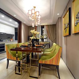 现代东南亚风格餐厅装修图