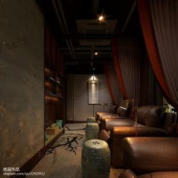 中式风格美甲店设计