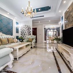 奢华欧式客厅装修案例