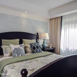 美式风格舒适卧室设计