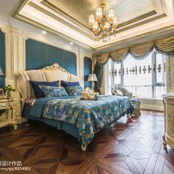 优雅欧式风格卧室效果图