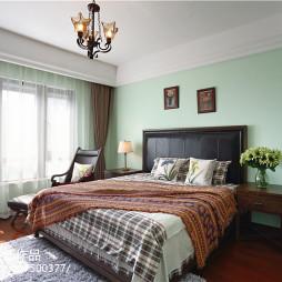 家装美式风格卧室图片