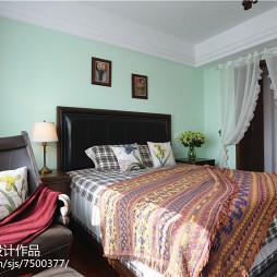 乡村美式风格卧室装修大全