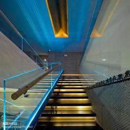 素食馆楼梯设计