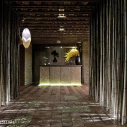 中餐厅入口设计