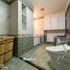 中式风格复式卫浴设计