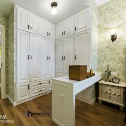 家装美式衣柜装修案例